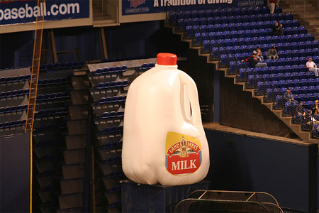 Giant Milk Jug