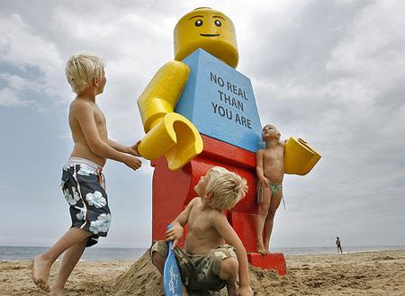 Giant LEGO Man