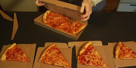 Innovative Pizza Box Design