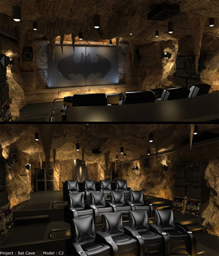15 Awesome Basement Home Theater Cinema Room Ideas: 12 Unusual And Creative Home Theaters