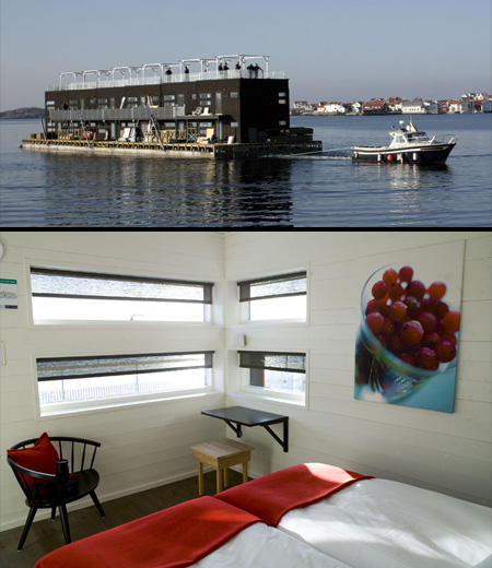 Floating Hotel in Sweden|www.FunShad.com