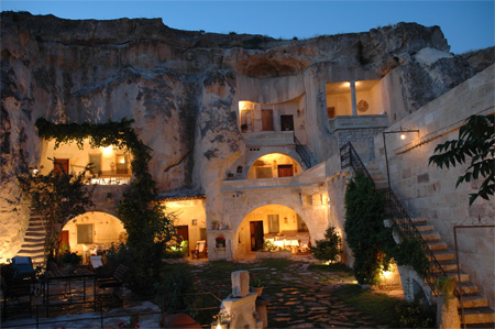 Cave Hotel in Turkey|www.FunShad.com