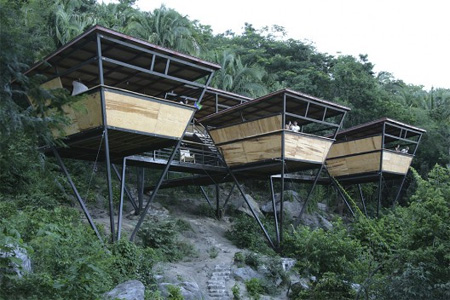 Jungle Hotel in Mexico|www.FunShad.com