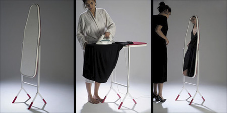 Ironing Board Mirror by Aïssa Logerot