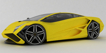 Beautiful Lamborghini X Concept
