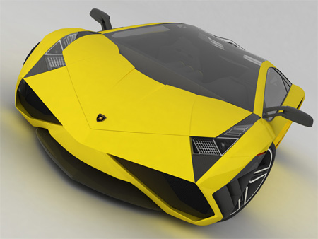 Beautiful Lamborghini X Concept 2
