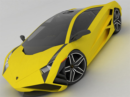 Beautiful Lamborghini X Concept 3