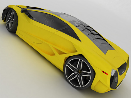 Beautiful Lamborghini X Concept 4