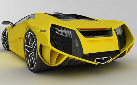 Beautiful Lamborghini X Concept 5