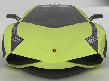 Beautiful Lamborghini X Concept
