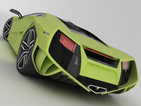 Beautiful Lamborghini X Concept 8