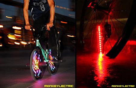LED Bike Wheel Lighting