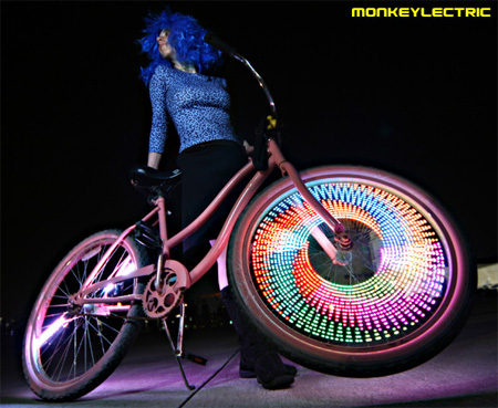MonkeyLectric LED Bike Wheel Lights