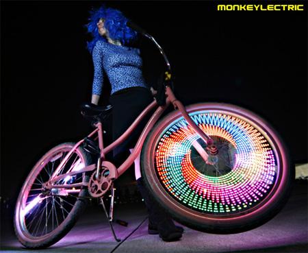 MonkeyLectric LED Bike Wheel Lights