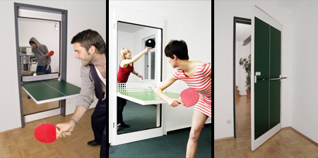 Ping Pong Door by Tobias Franzel