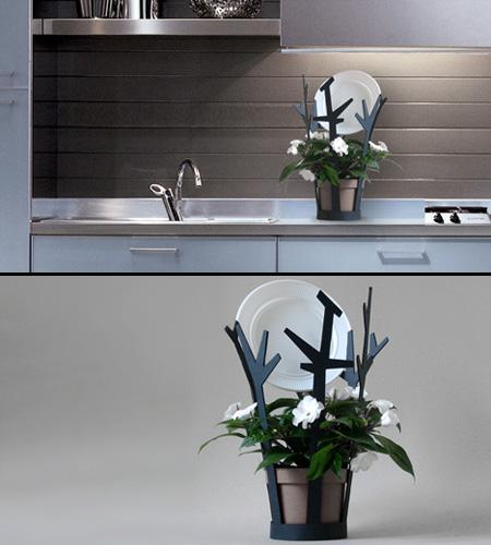 Dish Drip Plant Pot