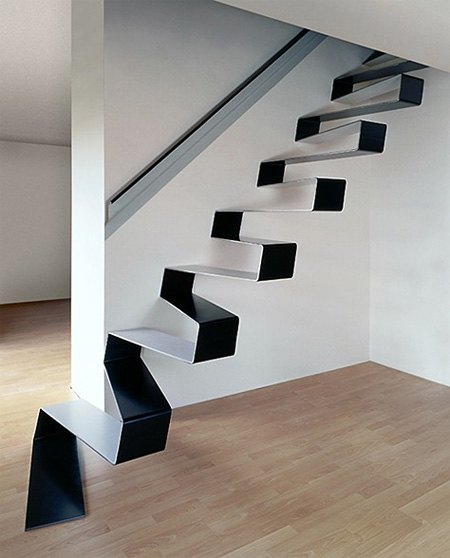 Ribbon Staircase by HSH architects Seen On www.coolpicturegallery.net