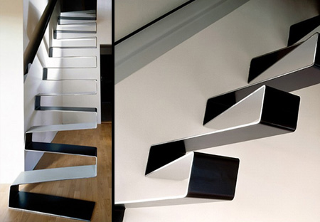 Ribbon Staircase Design