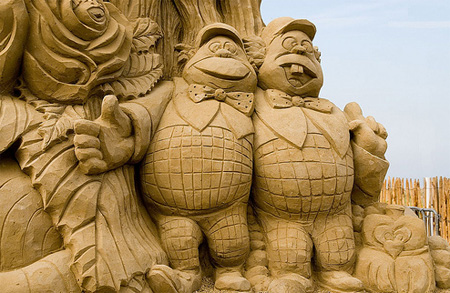 Disney Sand Sculpture