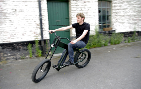 Motorcycle Inspired Bicycle