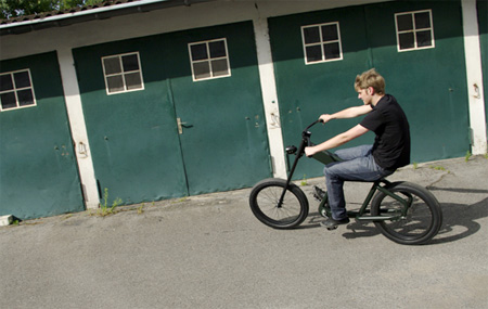 Shocker Chopper Motorcycle Inspired Bike