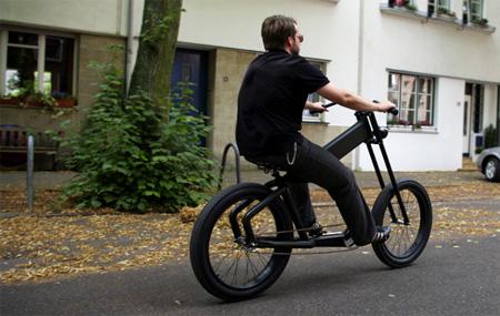 Shocker Chopper Motorcycle Inspired Bicycle