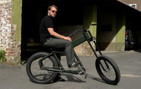Shocker Chopper Bike