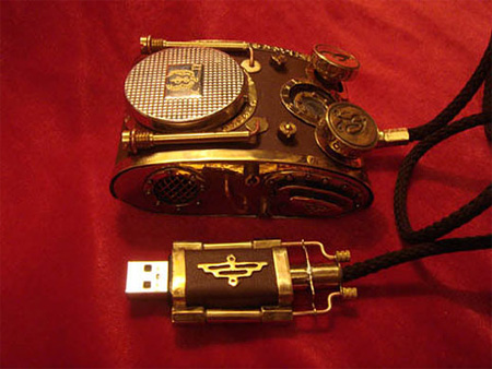 Steampunk Computer Mouse