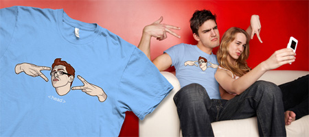 Geek Hand Sign T-Shirt