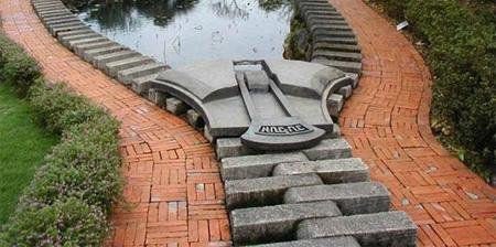 Beautiful Zipper Pond in Taiwan