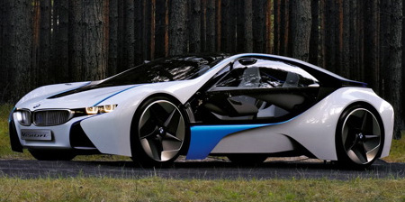 Sport Cars on Vision Efficientdynamics Concept Sports Car From Bmw Combines Superb