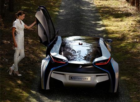 BMW Vision Electric Hybrid Concept Car