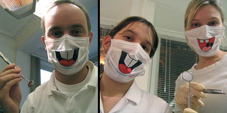 Creative Surgical Masks for Dentists
