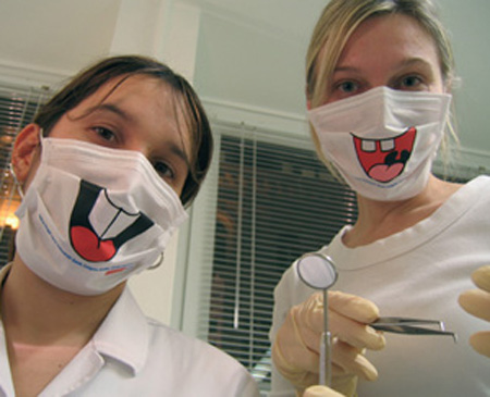 Colgate Dentist Masks