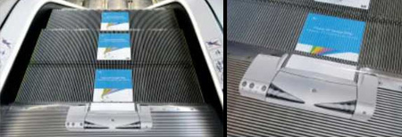HP Photosmart Escalator Advertisement