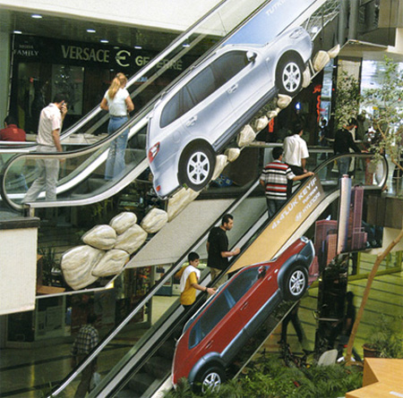 Hyundai Escalator Advertisement