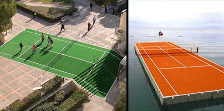 Extreme Tennis Court Locations
