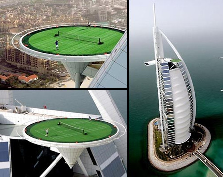Tennis Court in Dubai