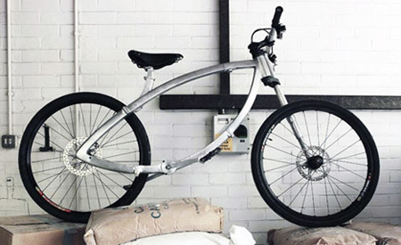 Innovative Folding Bike Design