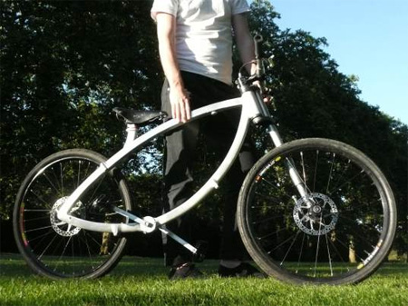 The Contortionist Folding Bicycle