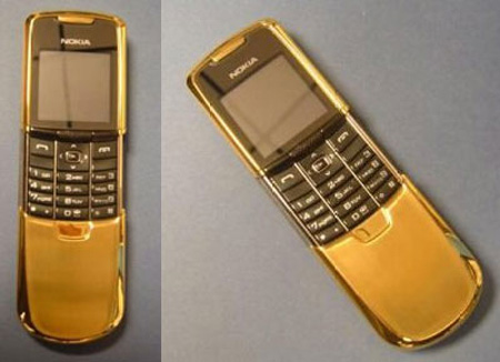 Gold Cell Phone