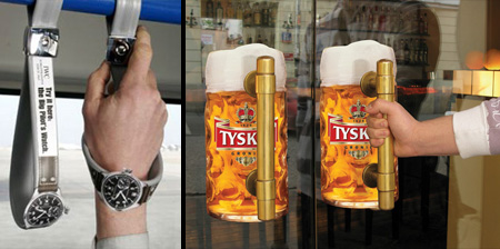 Clever Uses of Handles in Advertising