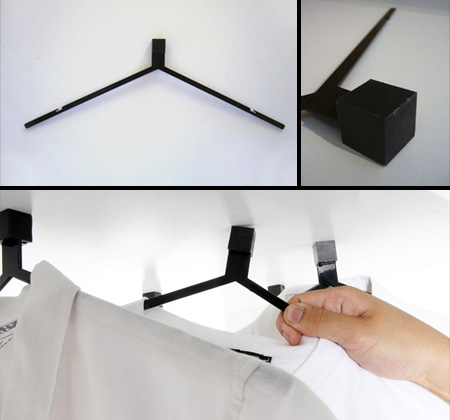Collection of modern coat hangers yaohui plastic - Unusual uses for wire coat hangers ...