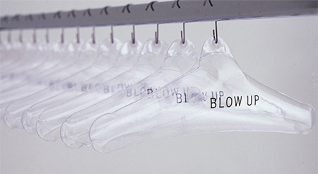 Blow Up Hanger