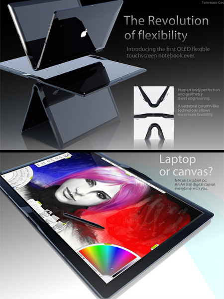 Apple MacBook Touch Concept