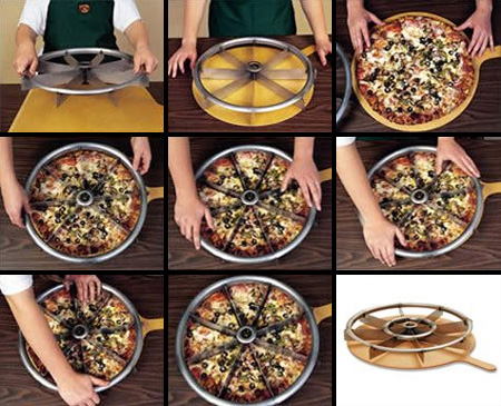 Multi-Blade Rocker Pizza Cutter