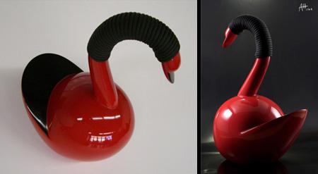 Cigno Bird Teapot