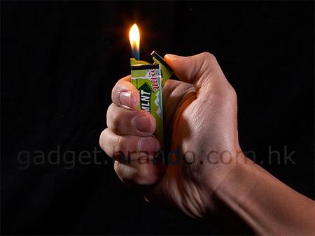 Doublemint Gum Lighter