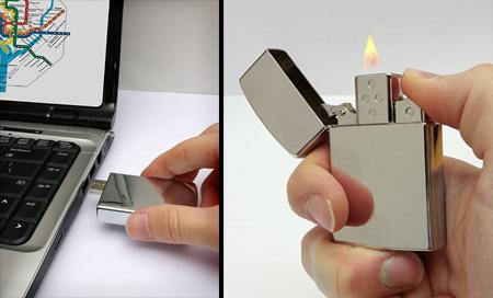 USB Flash Drive Lighter