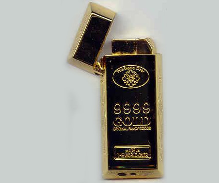 Gold Bar Lighter